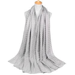100% من القطن سهل الحجاب شول أزياء المرأة وشاح