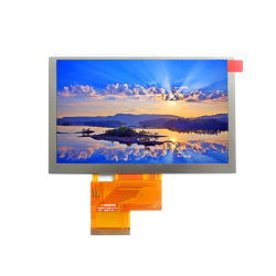 "Usine de Shenzhen CTP TFT LCD 40broche 5.0"" WVGA TFT LCD Carte Affichage 800 (RVB) X 480 points"