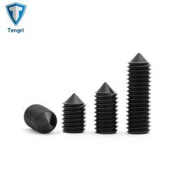 Tornillos de seguridad de acero de aleación de lámina de acrílico DIN 914 Cabeza Hexagonal tornillos con el Vértice
