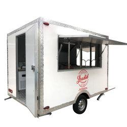 Sintonize a pizza Móvel Bakery caminhão de reboque de flores para a venda de alimentos