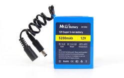Bateria de Lítio 5.2Ah 12V bateria da câmara electrónica baterias sucata para venda