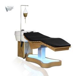 전기 호화스러운 머리 세척 샴푸 사발 침대 샴푸 의자