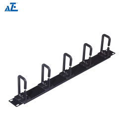 Cable de plástico horizontal 1u Manager - Anillo flexible Tipo: 6u 9u 12u armario de pared Alojamiento
