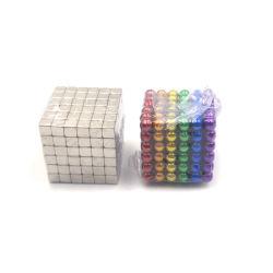Magische NeoKubus Magnetische 5mm van het Raadsel 216 Ballen van de Magneet van het Neodymium van PCs Magnetische