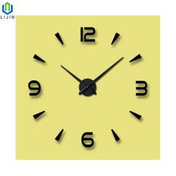 [ديي] أكريليكيّ [ولّ كلوك] أكبر من المعتاد يعيش غرفة ساعة زخرفيّة