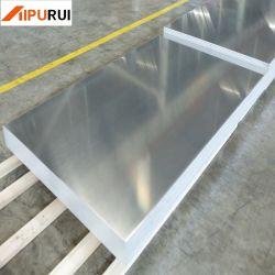 Haute qualité 5052 H32 H34 plaque en aluminium pour la décoration de feuille Aluminun
