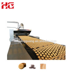 HG بالكامل Automatic Soft Hard Coda Cracker بسكويت صنع كوكي آلة مع سعر رخيص وضع آلة صنع بسكويت صنع في مصنع شانغهاى الصينى