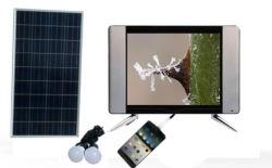 Obbligazione astuta portatile TV di telecomando LED TV24inch mini Digitahi del forte del segnale HD TV T2 ricaricabile dell'affissione a cristalli liquidi DVB
