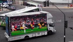 إعلانات فيديو المركبات المتحركة في الهواء الطلق شاشة LED للمقطورة المتحركة/الشاحنة