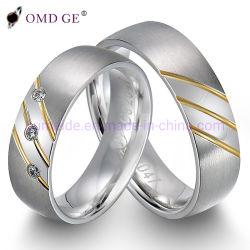 方法宝石類のめっきの金及びロジウム結婚の大成功のチャンス