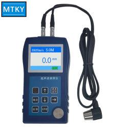 Medidor de espesor ultrasónico Tester Medidor Digital de la batería de instrumentos Measuing ancho