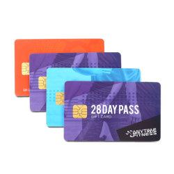 在庫シルバー磁気ストライプの PVC ID ホワイトでカスタマイズ ブランク PVC プラスチック ATM クレジット前払い RFID スマート ID カード