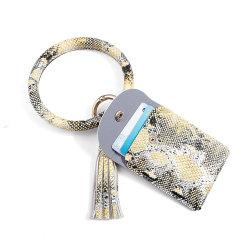 Catena chiave stampata animale multifunzionale promozionale dell'unità di elaborazione del braccialetto della borsa delle donne del regalo con l'amo del metallo