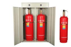 90L het Brandblusapparaat van het Gas van het dubbel-kabinet FM200 Met Automatische Gecontroleerde Wijze