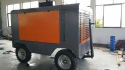 De industriële Blauwe Compressor Van uitstekende kwaliteit van de Lucht van de Kleur Grote Draagbare