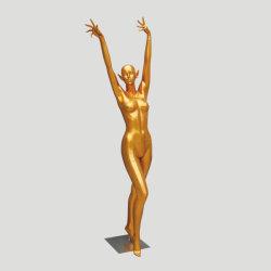 La DANSE MODERNE Golden Sexy mannequin femme mannequin pour la Mode affichage