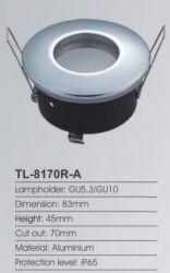 Maat 83 mm Snijgat 68 mm IP65 Waterdicht licht vast bad Kamer-LED-lampen