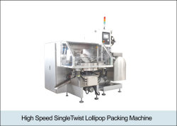 Toque Único de alta velocidade máquina de embalagem Lollipop (K8010018)
