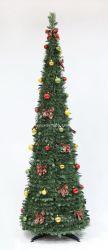 6FT decorado Holly Pop-up del árbol de Navidad