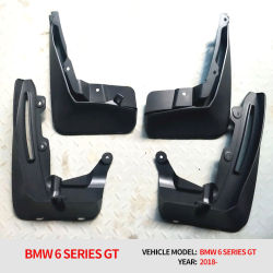 La boue Gaurd Splash rabats orginal OEM Custom Autoparts BMW GT 6 Modèle de conception de l'aile de voiture