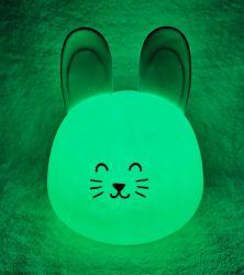 مصباح LED ناعم يخيف بالسيليكون – البولي يورثان المتلدن بالحرارة (TPE)، ملون، مبتكر، حالم، مصباح ليلي لطيف،