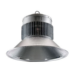 Cheap Wholesale Die-Casting Couvercle en verre trempé en aluminium LED High Corps de Lumière de la baie