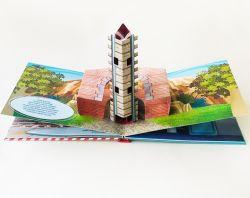 Всплывающие Книги детям подарок 3D книги печать