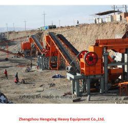 Agregado de la línea de producción de trituración de piedra arenisca