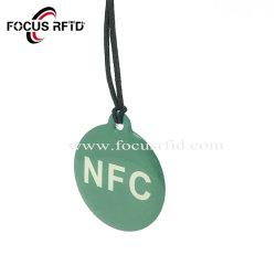 Custom Tk4100/F08 RFID Jelly Tag Epoxy Keychain Smart Card VIP Loyalty Card voor Fitness Club