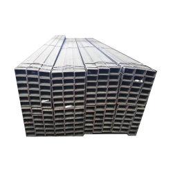 Sezione d'acciaio quadrata della cavità dell'acciaio inossidabile del tubo Ss201 per costruzione