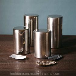 Aço inoxidável hermética de chá Chá Tins latas interior