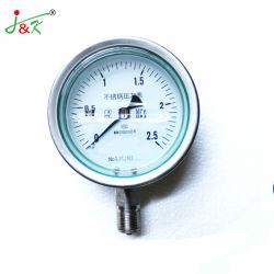 Ytfn высокого качества и Best-Selling из нержавеющей стали Vibration-Proof манометр