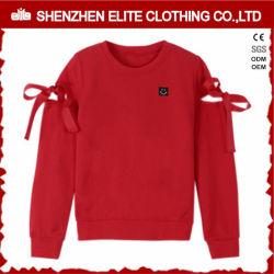 Populäre Form-neue Entwurfs-Strickjacken in den roten Mädchen (ELTHI-47)