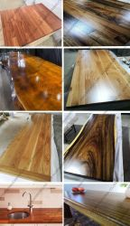 Divers bloc de bois Butcher comptoir bar Top Table Plan de travail