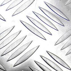 Aluminio personalizado a cuadros en relieve una lámina de aluminio