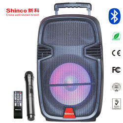 Shinco 12-дюймовый НЧ многофункциональный Professional активной стадии динамик с микрофоном