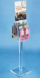 Standing Acryl Schild Display mit Broschüre Halter