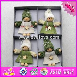 2017 Nuevos Productos de Madera colección de Navidad Moda niños Fairy Doll W02A225