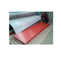 屋根のための鋼板に屋根を付ける着色された上塗を施してある波形の金属PPGI