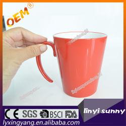 En dehors de rouge, orange, noir, bleu, de couleur rose tasse à café de glaçure Prix de gros navire pour le Mexique