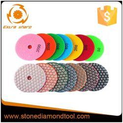 El Hormigón pulido de diamantes amoladora angular Pads Pads de pulido