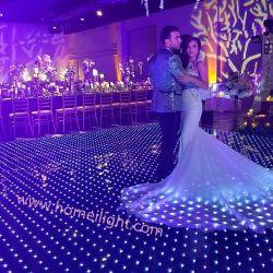 50*50cm de cristal templado de video en pantalla LED de pista de baile para eventos de Car Show