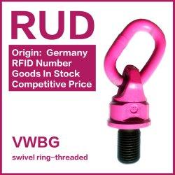 Rud G100 Bague de pivot Point de levage de l'anneau de levage
