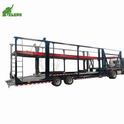 Laden Van 8 Auto'S Transport Auto Hydraulische Hijsogen Aanhangwagen