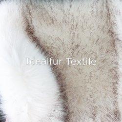 Luxe Tip-Dyed super douce peau de renard le raton laveur Col de Fourrure