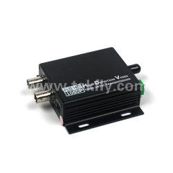 2チャネルの単一のファイバーのビデオデジタル光学コンバーター
