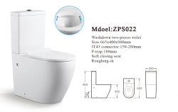 خدمات الصحة العامة الفاخرة الحمام الأمريكي القياسي ذو قطعتين سعر المرحاض