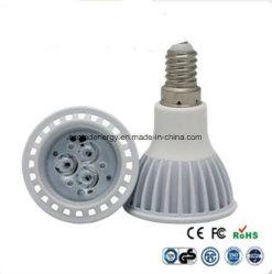 CE 및 Rhos E14 3W LED 스팟 조명