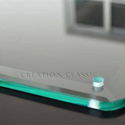 جزء من الزجاج المقسى للأمان للأثاث ذو الشكل المختلف
