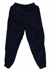 Pantaloni pareggianti di Sportwear del pareggiatore dei pantaloni dell'azzurro di blu marino di Sweatpants dei bambini
